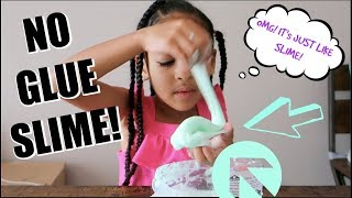 DIY NO GLUE SLIME!!! Maĸing Slime Without GLUE!!!!!
