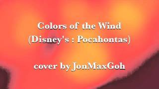 Gambar cover COLORS OF THE WIND (Male Cover) - Disney's: Pocahontas