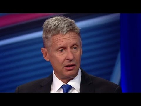 Gary Johnson on why voters should choose him