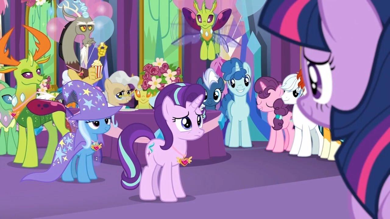 My Little Pony Fim Season 7 Episode 1 Celestial