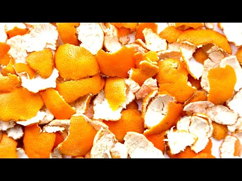 Never Throw Away Your Tangerine Peel Here's How To Cure Cough With It !