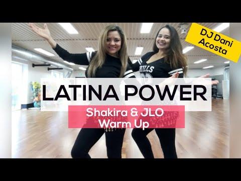 Warm Up LATINA POWER - Shakira & JLO Super Bowl Halftime 2020. Dj Danny Acosta