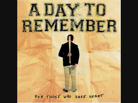 A Day To Remember - You Should Have Killed Me When You Had The Chance *HQ*