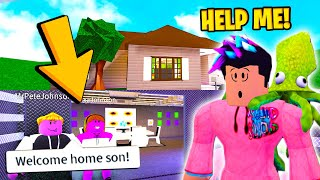 This Mom And Dad ADOPTED ME.. And They Had A SCARY SECRET! (Roblox)
