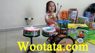 Jual Flash Rock Drum Mainan Drum Anak Paling Murah