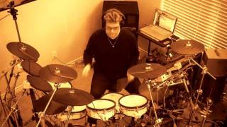 "Alicia Keys Drum Cover - New York ""Empire State Of Mind"" Deluxe Version 2 Original Drum Parts"