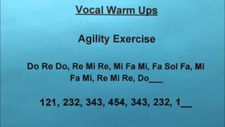 Agility Vocal Exercise