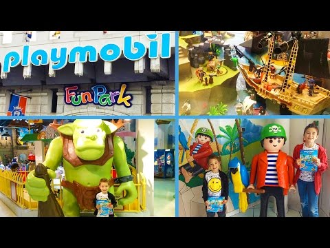 VLOG - Journée fun à PLAYMOBIL FUNPARK pour Swan & Néo - Indoor Playground Fun for Kids