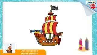 Jak narysować statek piracki?
