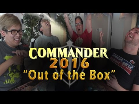 Out of the Box l Commander 2016 Gameplay