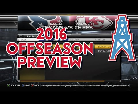 Madden 15 Franchise Mode - Houston Oilers | Offseason Preview