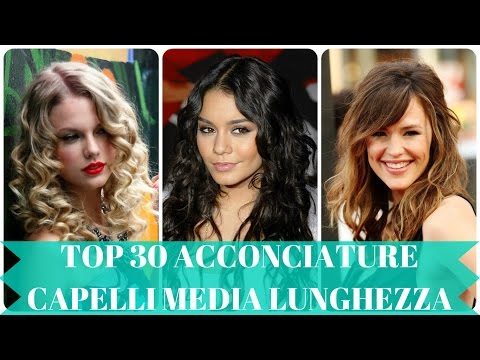 Top 30 acconciature capelli media lunghezza