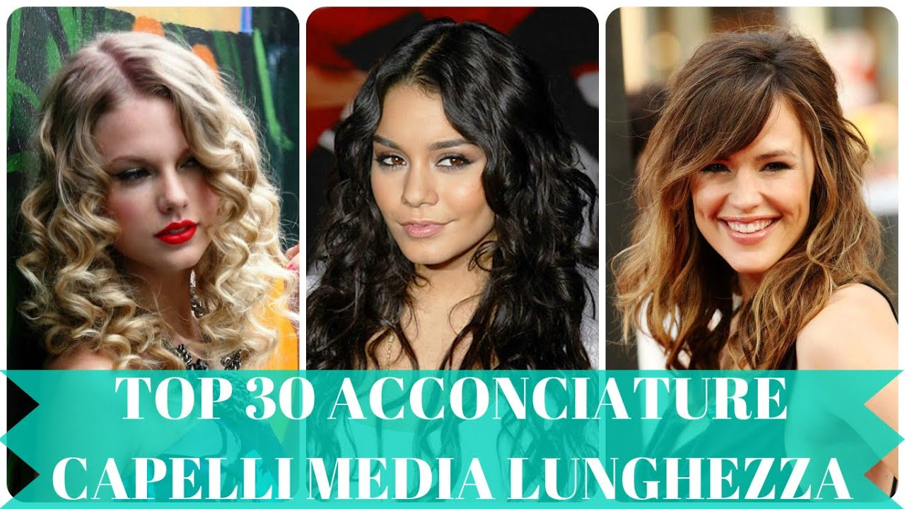 Favorito Top 30 acconciature capelli media lunghezza - YouTube QD31