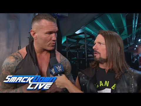 Randy Orton questions AJ Styles\' intensity: SmackDown LIVE, March 5, 2019