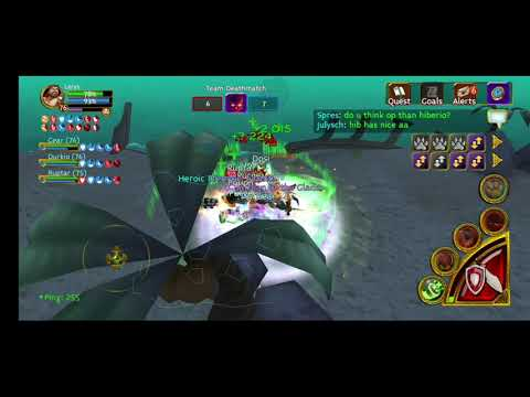 Arcane Legends Pvp Lv 71 - Purge Can't Play Fair.  Ft. Boy AL
