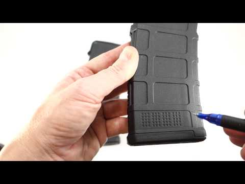 Comparison of the Magpul PMAG Gen 2 and Gen 3