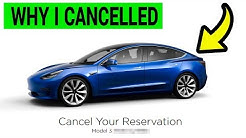 Why I Cancelled my Tesla Model 3 Reservation