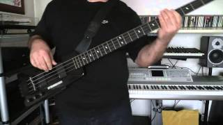Bass Cover - INXS - Dancing on the Jetty - with Steinberger XL2 bass