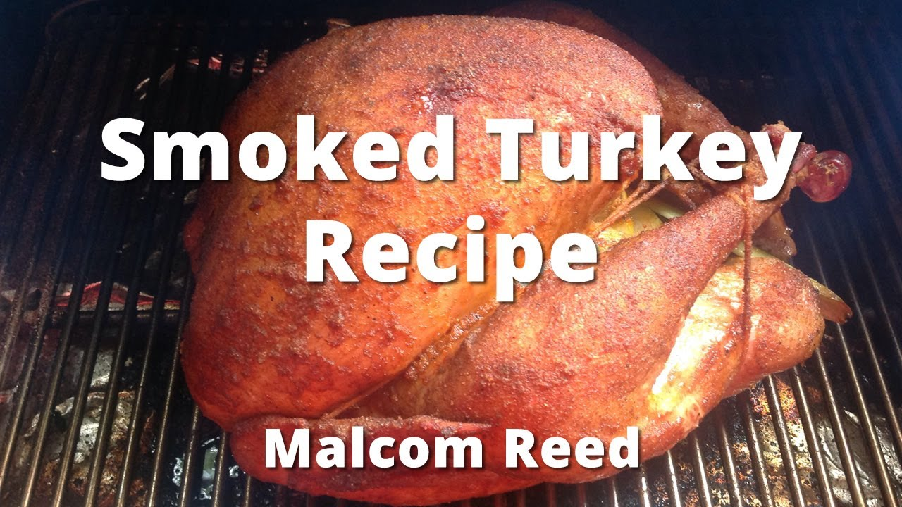 Smoked Turkey Recipe - How to Smoke a Whole Turkey