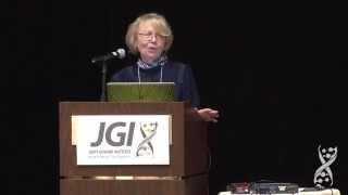 Joan Bennett at the 2015 DOE JGI Genomics of Energy & Environment Meeting