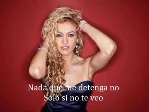 Paulina Rubio Nada Puede Cambiarme Letra mp3