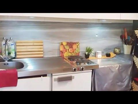 جولة في مطبخي المتواضع وافكار للمطابخ الضيقة Youtube