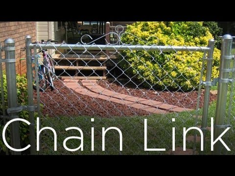 HOW TO INSTALL CHAIN LINK FENCE (PART 1)