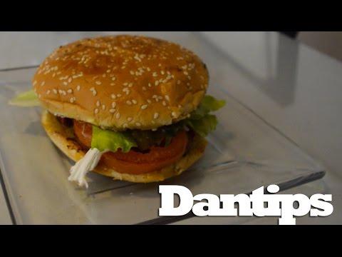 Hamburguesa a la mexicana - Dantips - YouTube