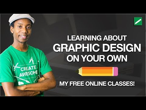 How to Learn Graphic Design Online and My Free Courses