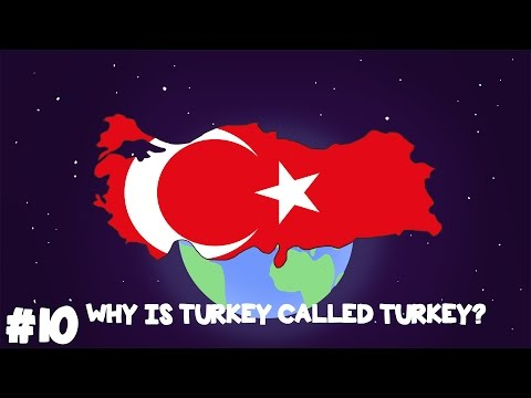Where did Turkey gets its Name? - Animated