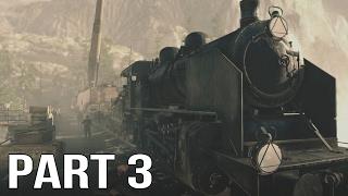 Sniper Elite 4 Gameplay Walkthrough Part 3 - Railway Gun - PS4 Pro Gameplay