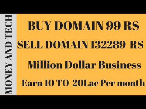 domain buy and sell Hindi -buy and sell domain names for profit-earn money from buy and sell domain