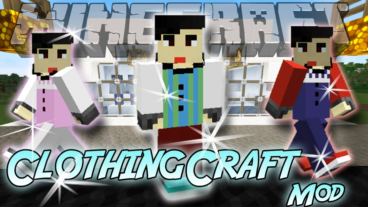 how to make clothes minecraft