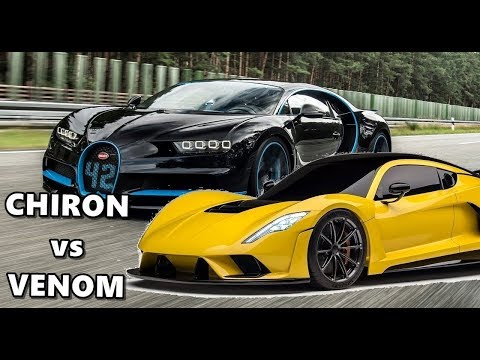 Hennessey Venom F5 or Bugatti Chiron – Which One's the King?