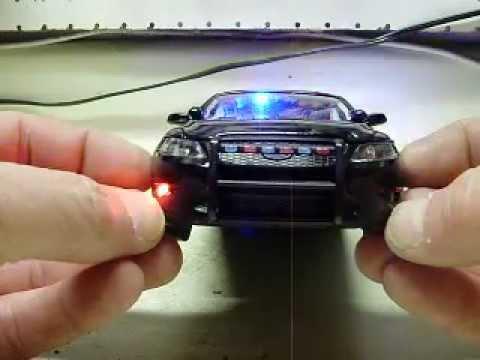 Custom 124th Ford Taurus Police Interceptor Slicktop diecast model with working strobes - YouTube & Custom 1:24th Ford Taurus Police Interceptor Slicktop diecast ... markmcfarlin.com