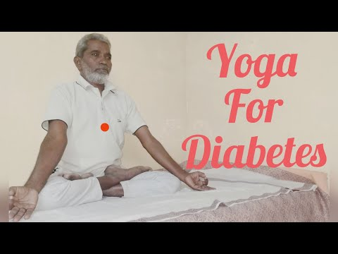 Easy 5 min yoga for all. diabetic problem in tamil.