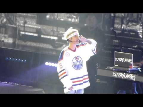Justin Bieber Mark My Words/Where are U Now Purpose Tour Las Vegas 3-25-16