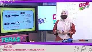 Teras (2021) | Menengah Rendah: Matematik – Laju