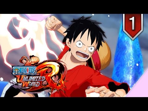 One Piece: Unlimited World Red ★ Episode 1 ★ Movie Series / All Cutscenes + Boss Fights