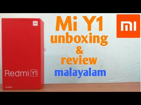 Redmi Y1 unboxing and review in malayalam