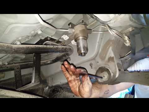 How to change a fuel filter on a CNG Honda Civic