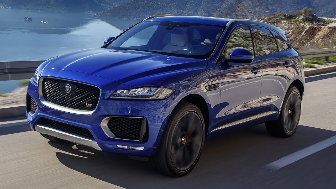 2019 jaguar f-pace - interior exterior and drive