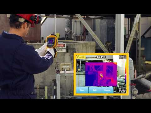 Fluke Ti400/Ti300/Ti200 Infrared Cameras With LaserSharp® Auto Focus