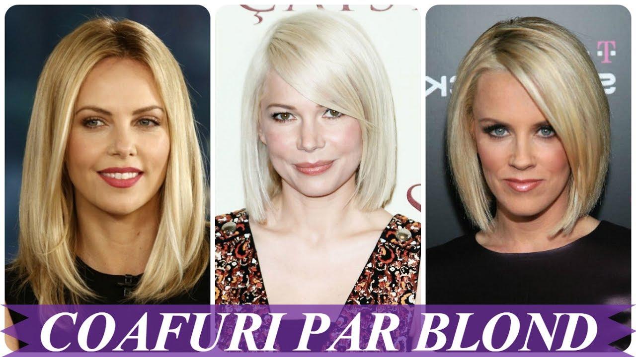 Modele De Coafuri Par Blond
