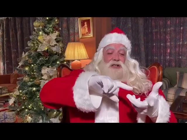 Santa Klaus: El mejor mensaje de Navidad 2020