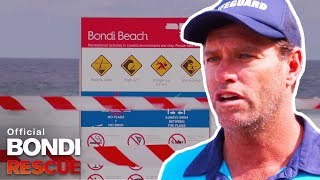 Coronavirus Closes Down Bondi Beach *EXCLUSIVE SEASON 15 CLIP*