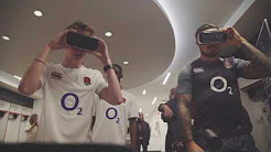 Calfreezy takes on players in England Rugby 360° virtual reality experience