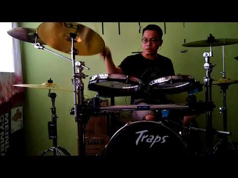 Jatuh - Sissy Iman Drum Cover by Andreavucci Ujang