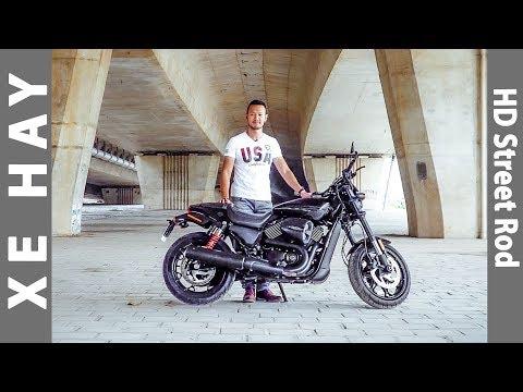 nhận xét xe Harley-Davidson Street Rod 750 - motor cho giới trẻ |XEHAY.VN|