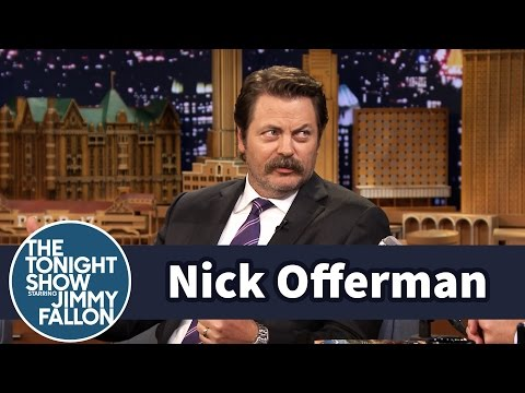 Nick Offerman and His College Roommate Had Sexual Codes